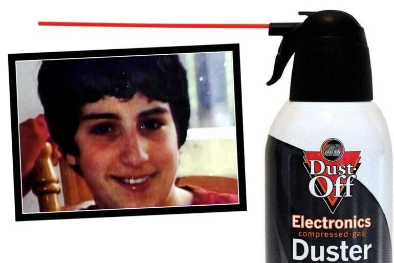 A message from a dad who lost his son to dusting - inhaling compressed air