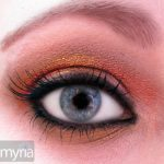 Autumn shades of eyeshadow