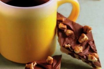 Chocolate chip toffee diamonds