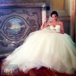 Chrissy Teigen's wedding dress when she married John Legend