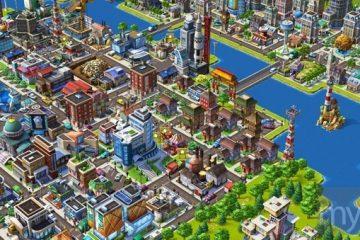 Cityville game screen