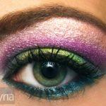 Colorful Summer Rainbow Eyeshadow