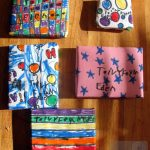 Eden's handmade gift wraps