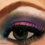 Funky party eyeshadow