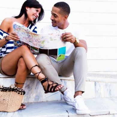 Happy couple relaxed - Love vs not: Getting to know the ratio for positive relationships