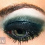 Green and Blue M.A.C Eyeshadow