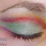 Green blaze eyeshadow 2