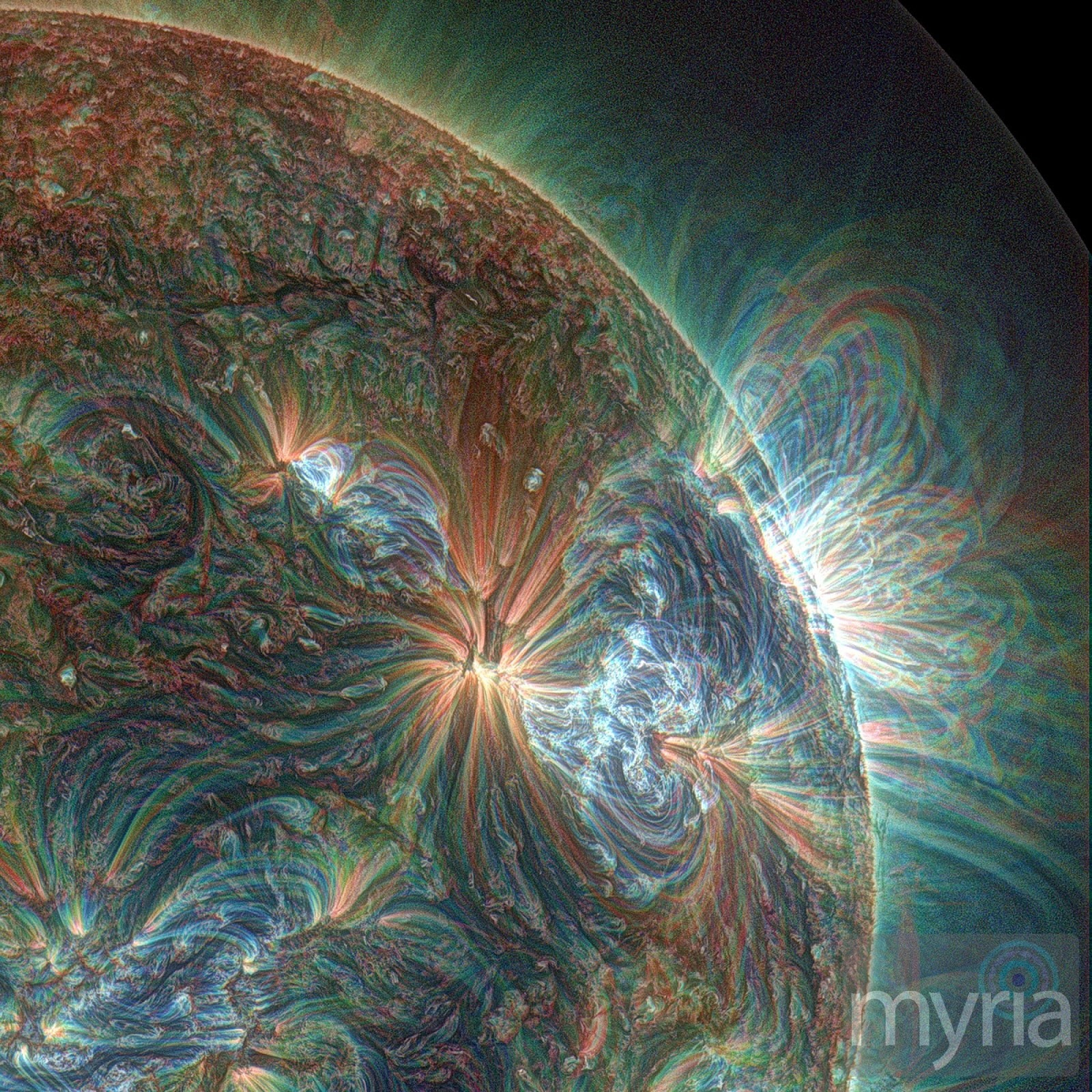 Puffing sun gives birth to reluctant eruption