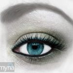 The Eyes Tell the Story: Green eye shadow