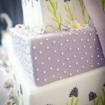 Purple layer cake - Torta a strati viola