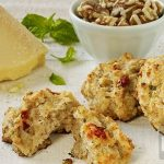 Walnut Parmesan Biscuits