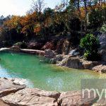 Huge natural swimming pool