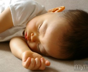 sleepy little baby