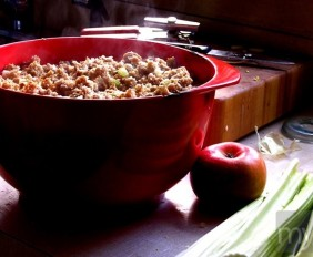 steaming stuffing