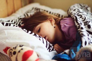 sweet sleeping girl