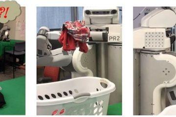 the laundry robot Srivastava