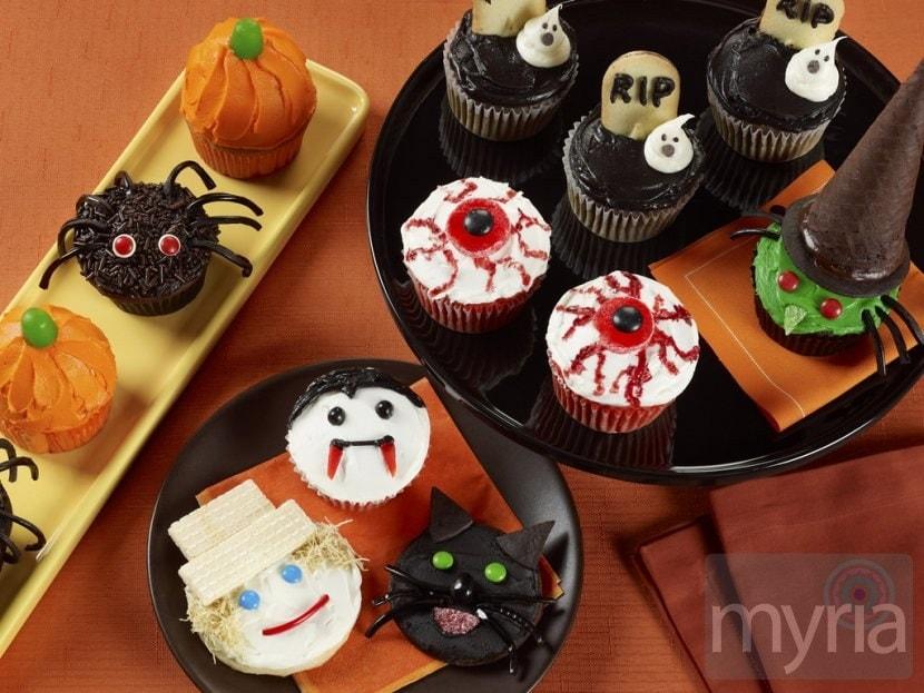 Autumn Cupcakes Kids Halloween cookies  amp cupcakes